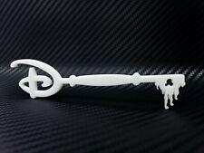 Disney Mickey Ed. Key 1:1 Accurate Scale High Detail 3D Print Custom DIY - White