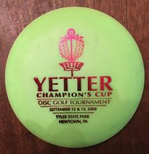 Eric C.Yetter Champions Cup 2009 Disc Golf Mini Disc