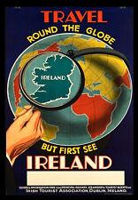 IRELAND visit A3 vintage retro travel & railways posters art print Wall Decor #3