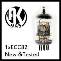 1pcs HIFI ECC82 12AU7 Vacuum Tube Amplifier Mullard JJ AK985 Psvane EH ShuGuang