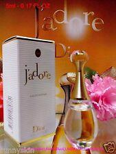 "[Dior] J'adore Eau De Parfum (5ml) Miniature EDP "" Travel Size ""  NIB FREE POST!"
