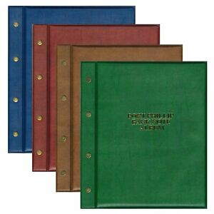 Port Phillip Banknote Album Including 6 Pages Padded Cover Expandable Capacity