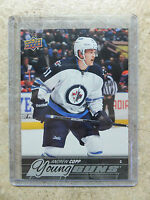 15-16 UD Series 1 RARE Promo Set JETS #JET-7 ANDREW COPP Young Guns YG Rookie