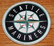 "Seattle Mariners Round Patch 5"" Embroidered NEW Iron-On Hoodie Size Baseball *C5"