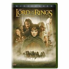 Lord of Rings Fellowship of Ring DVD 2001 Region 1 US IMPORT NTSC by