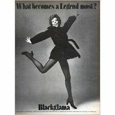 1973 Blackglama: Carol Burnett Vintage Print Ad