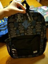 Bioworld BBC Doctor Who Tardis Time Lord Backpack Bookbag Dr School NWT Black