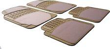 Beige/Cream Half Rubber Carpet Car Floor Mat Volvo S40 S60 V40 V60 V70 V90