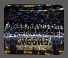 Item#6150 Vegas Golden Knights Team Facsimile Autographed Mouse Pad
