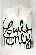 Urban Outfitters Wesley Bird For DENY Designs Queen Duvet Locals Only