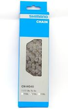 Shimano CN-HG40 6/7/8 Speed HG Chain With Connecting Pin 116 Links