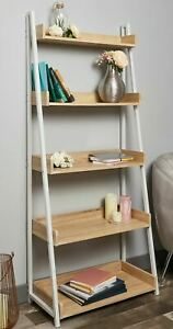 5 Tier Ladder Shelf Bookcase Plant Flower Display Shelving Unit Stand Metal Rack