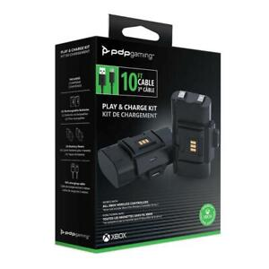 PDP Gaming Play & Charge Kit for Xbox Series X/S and Xbox One