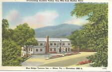 Blue Ridge Terrace Inn Afton VA 1955 Postcard
