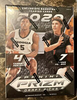 2x 2020 Panini Prizm Draft Picks Collegiate Basketball BLASTER BOXes Lot Of 2