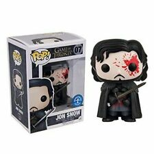 Funko Pop Game of Thrones 07 Jon Snow (Bloody) with Pop Protector
