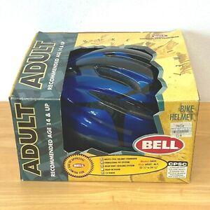 Vintage 1998 Bell Bike Helmet Oasis Adult size M L Blue Black NOS in Box TSH0