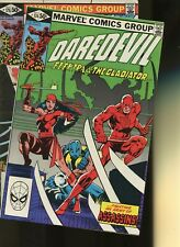 Daredevil 174,175 *2 Books* Marvel! Man without Fear! The Hand 1st Appearance!