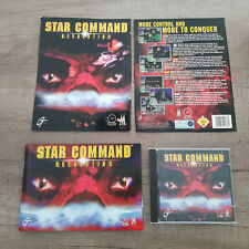 Star Command: Revolution, GT Interactive, PC CD-ROM (+ cut front/back of box)