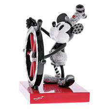 Romero Britto-Walt Disney - Mickey Steamboat Willi Figurine  18 cm 4059576