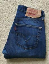 Mens Levi's 501 XX blue straight leg denim jeans W 32  L 31