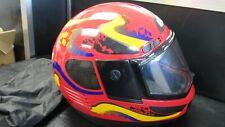 LAZER Ski-Doo Bombardier RED   Snowmobile Helmet M Medium MINT INTERIOR EX EXT