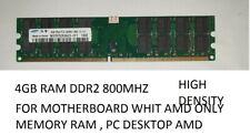4GB RAM DDR2 800MHZ PC DESKTOP AMD ONLY PC2-6400U MEMORIA SAMSUNG asus asrock