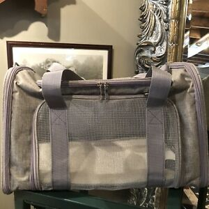 Pet Small Dog Carrier Handbag Shoulder Travel Carrying Tote Luxury Cat Mesh NEW