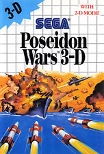 ## SEGA Master System - Poseidon Wars 3 D - TOP / MS Spiel ##