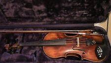 Violin, Used, 4/4, Fiddle, Antique, Vintage 1800,s