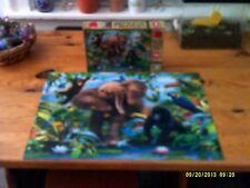 Super 3D 500 Piece Jigsaw Puzzle, Junior Jungle