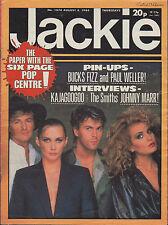 Jackie Magazine 4 August 1984 Issue 1074     Bucks Fizz     Kajagoogoo