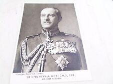 VINTAGE SIR CYRIL NEWALL GVB CBE BELCOLOR CHARITY  MILITARY POSTCARD