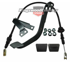 Holden Clutch Pedal Cable PULL Conversion Kit HQ HJ 6cyl Rod Push Rat Trap to WB