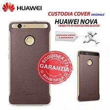 Egp193352 Huawei Nova Leather Cover Brown