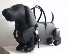 THOM BROWNE Hector Pebble-Grain Leather Tote Bag RRP £2140