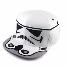 White Boys/adult Star Wars  Storm Trooper Snapback Baseball Cap adjustable.