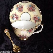 Enchantment by Lena Liu Glorious Chintz Collection Teacup, Saucer & Spoon Set