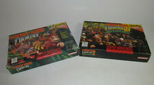 Donkey Kong Country 1 & 2: Diddy's Kong Quest (Super Nintendo) SNES Complete CIB