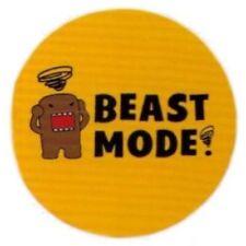 "Domo-Kun Beast Mode 3"" Button"