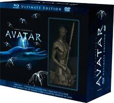 Avatar-coffret ULTIMATE-Statuette Jake&3 blu ray&3 dvd&1 Sénitype&livret 40P.