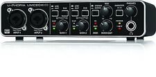 BEHRINGER UMC204HD 24-Bit/192kHz USB audio interface JAPAN Free shipping NEW