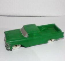 "Vintage 4 1/2"" 1957 Green Auburn Rubber Ford Ranchero Pickup Truck VGC #610"