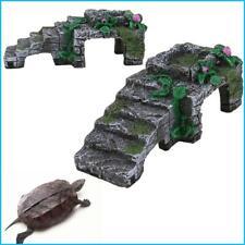 Aquarium Tank Reptile Turtle Basking Terrace Resin Island Platform Dock Decor