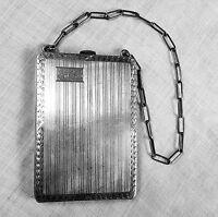James E. Blake dance / coin purse or necessaire 1227 in sterling silver mono EHB