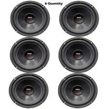 LOT of 6 - Pyle PLPW6D 6.5'' 600 Watt Dual Voice Coil 4 Ohm Subwoofers