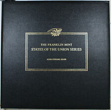 The Franklin Mint States of the Union Series First Edition Silver Coin Proof Set