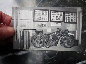 St. Peter's Bunker War Museum Jersey old Postcard German WWII WW2 motorcycle