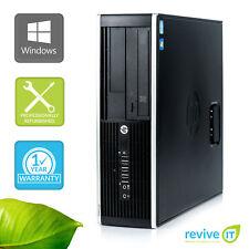 HP Pro 6200 SFF  i3-2100 3.10GHz 4GB 500GB Win 7 Pro 1 Yr Wty