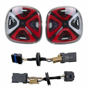 Für Smart 453 LED Facelift Rückleuchten + Adapter Kabel Original Kufatec Set